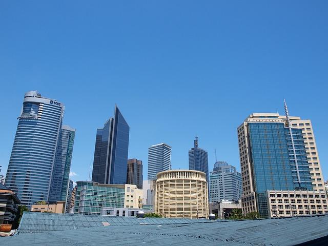 Město s mrakodrapy