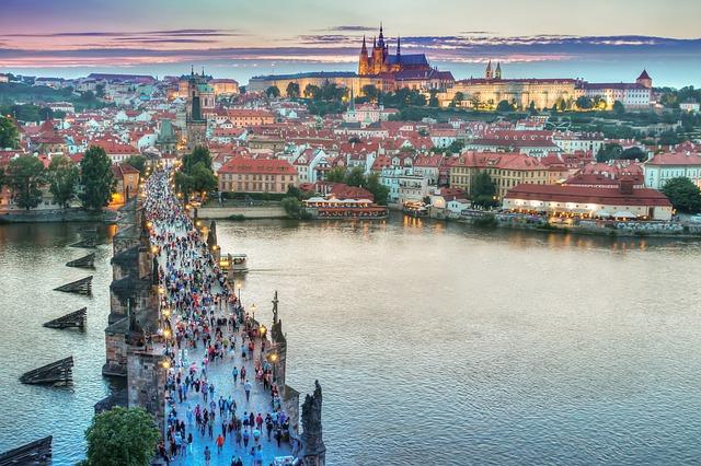 most v Praze