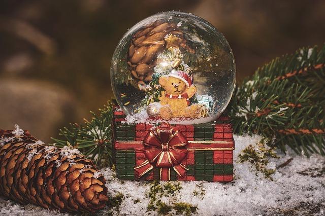 Vánoční sněhová koule